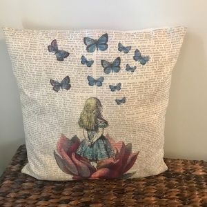 """""""Alice"""" Accent Pillow Cover and Insert"""